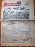 Flacara 7 noiembrie 1986-articol si foto orasul ramnicu sarat si statiunea cozia