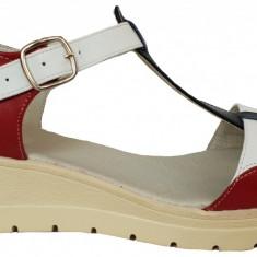 Sandale dama casual Ninna Art 274 multicolore