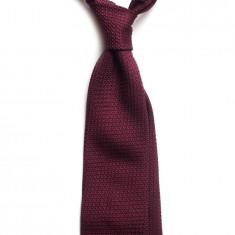 Cravata Matase Naturala Grenadine de Como