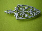Suport  vechi din aluminiu pentru fier de calcat