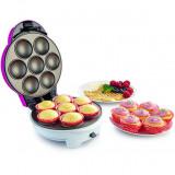 Aparat de waffle WCM702PW, 700 W, violet