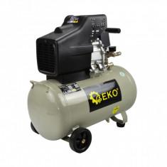 Compresor cu ulei 50 L, 8 BAR, 220 l/min, 2 iesiri, 1 cilindru