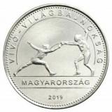 Ungaria 50 forint 2019 UNC Campionatul Mondial de Scrima