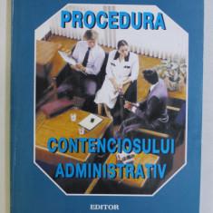 PROCEDURA CONTENCIOSULUI ADMINISTRATIV de THEODOR MREJERU , 1999
