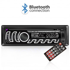 CD MP3 player auto cu BLUETOOTH butoane in 7 culori diferite FM USB card SD AUX IN