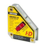 Cumpara ieftin Vinclu Magnetic cu Buton Adjust-O™, Forta 40 kg, Unghi 45°/90°, Strong Hand Tools MSA46-HD