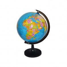 Glob Pamantesc educativ cu suport negru, diametru 14,2 Cm