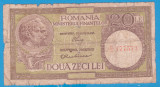 (1) BANCNOTA ROMANIA - 20 LEI ND (1947-1950), SEMNATURI LUCA + RUBICEC