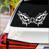 Owl Eyes  -Stickere Auto-Cod:ESV-121 -Dim  25 cm. x 13.2 cm.