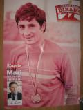 Dinamo / Steaua Bucuresti-poster fata dubla Cornel Dinu si Marius Lacatus 58x41