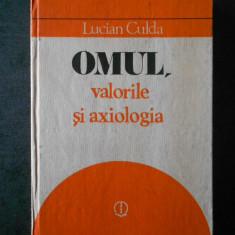 LUCIAN CULDA - OMUL, VALORILE SI AXIOLOGIA