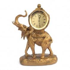 Statueta Elefant cu ceas 23x32 cm