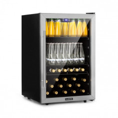 Klarstein Beersafe XXL, frigider pentru băuturi, 148 l, A +, sticlă, oțel inoxidabil