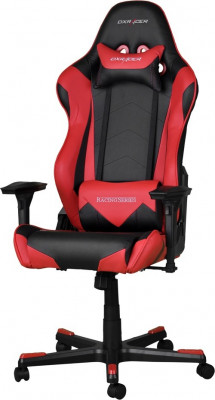 Scaun gaming DXRacer Racing negru/rosu foto