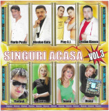 CD Singuri Acasa Vol.3, original, holograma, manele
