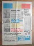 TINERETUL LIBER, PRIMUL NUMAR, 1989- REVOLUTIE