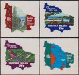 CENTENAR UPU - 1974 - NORFOLK - serie+bloc, Sarbatori, Nestampilat