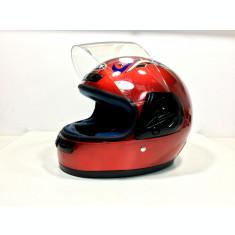 Casca Moto Scuter ATV Rosu
