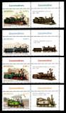 Romania 2011, LP 1912 b, Locomotive, serie cu viniete dreapta, MNH!
