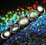 Inel argint tibetan masiv piatra opal,diverse modele stil vintage oriental luna