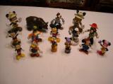 Disney - Lot 15 figurine - Mickey Mouse, Minnie, Donald, Daisy, Goofy