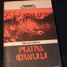 PIATRA CRAIULUI-EMILIAN CRISTEA-MONOGRAFII MONTANE-TURISM ALPINISM-333 PG-, Alta editura