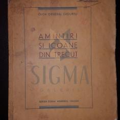 OLGA GENERAL GIGURTU - AMINTIRI SI ICOANE DIN TRECUT, CRAIOVA, 1935