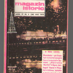 C8595 MAGAZIN ISTORIC - MAI 1970