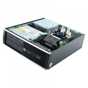 GARANTIE! PC HP 8200 Pro SFF i7 2600 3.4Ghz 8GB DDR3 240GB SSD DVD-RW DP