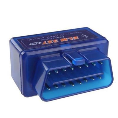 Interfata Diagnoza Super Mini Techstar® OBD2 Bluetooth cu Cip ELM v1.5 Torque foto