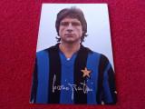 Carte postala fotbal(veche-sezonul 68/69)-MARIO BERTINI (INTERNAZIONALE MILANO)