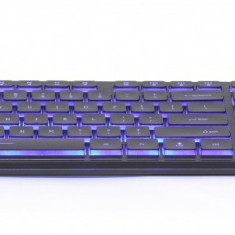 Tastatura cu fir Gembrid KB-UML3-01, iluminata, conexiune USB, Negru