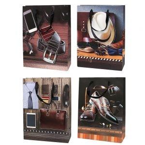 Set 4 pungi 3D cadou pentru barbati-XL1 foto