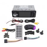 "Radio Auto MP5 PLAYER Techstar® 4022D SMART 1DIN, cu Display 4.1"", Bluetooth, Comenzi pe Volan, Camera Marsarier"