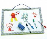 Tablă magnetică de scris (whiteboard), Djeco