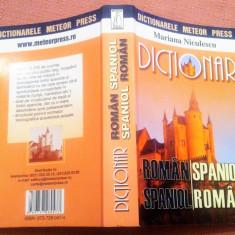 Dictionar Roman-Spaniol si Spaniol-Roman. Ed. Meteor Press, 2007 - M. Niculescu