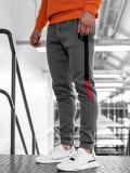 Pantaloni de trening bărbați grafit Bolf AM60