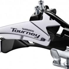 Schimbator fata Shimano Tourney TY500-TS3 tragere dubla 6/7 viteze colier jos 34PB Cod:SHI-85003, Tije si coliere sa