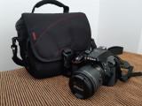 Aparat foto Nikon d5300 + obiectiv kit 18-55mm