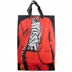 Punga pentru cadouri Arti Casa, imprimeu costum, 33.5x22.5x10 cm, Multicolor