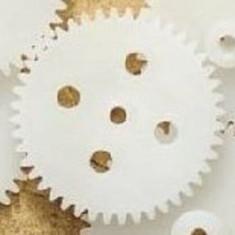 Roată Dinţată din Plastic 44-2A