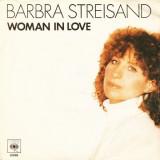 "Barbra Streisand - Woman In Love (1980, CBS) Disc vinil single 7"""