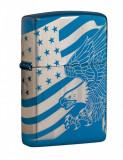 Cumpara ieftin Brichetă Zippo Patriotic Eagle & Flag Design 49046