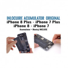 Inlocuire acumulator iPhone 8 8Plus iPhone7 7Plus