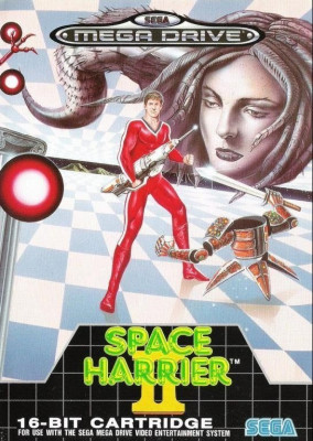 Joc SEGA Mega Drive SPACE HARRIER II foto