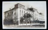 Timisoara Liceul de Baieti, ilustrata circulata 1932, Fotografie, Timis