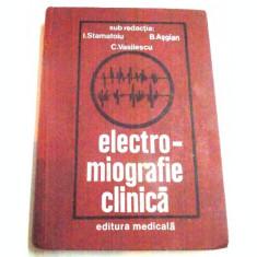 ELECTRO-MIOGRAFIE CLINICA DE I.STAMATOIU , B.ASGIAN, C.VASILESCU , 1981