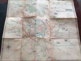 Reteaua de transport in comun- Harta Bucuresti