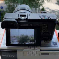 Kit mirrorless Sony A6000 cu obiectiv SELP1655 16-55mm f.putin folost