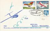 România, Concursul intern. de planorism al ţărilor soc., plic, Bucureşti, 1983